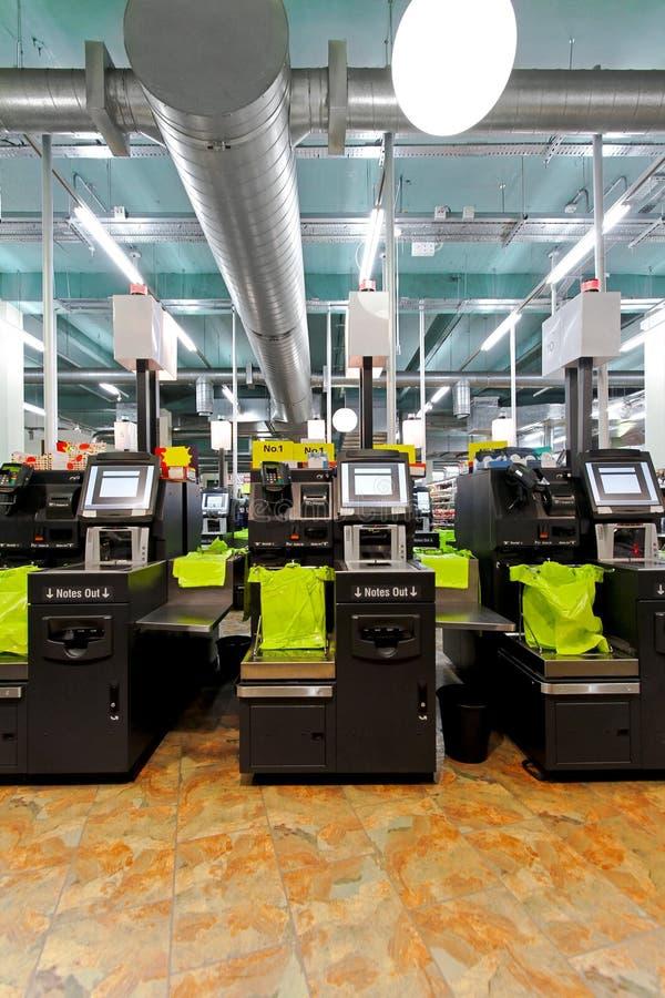 Self checkout machines