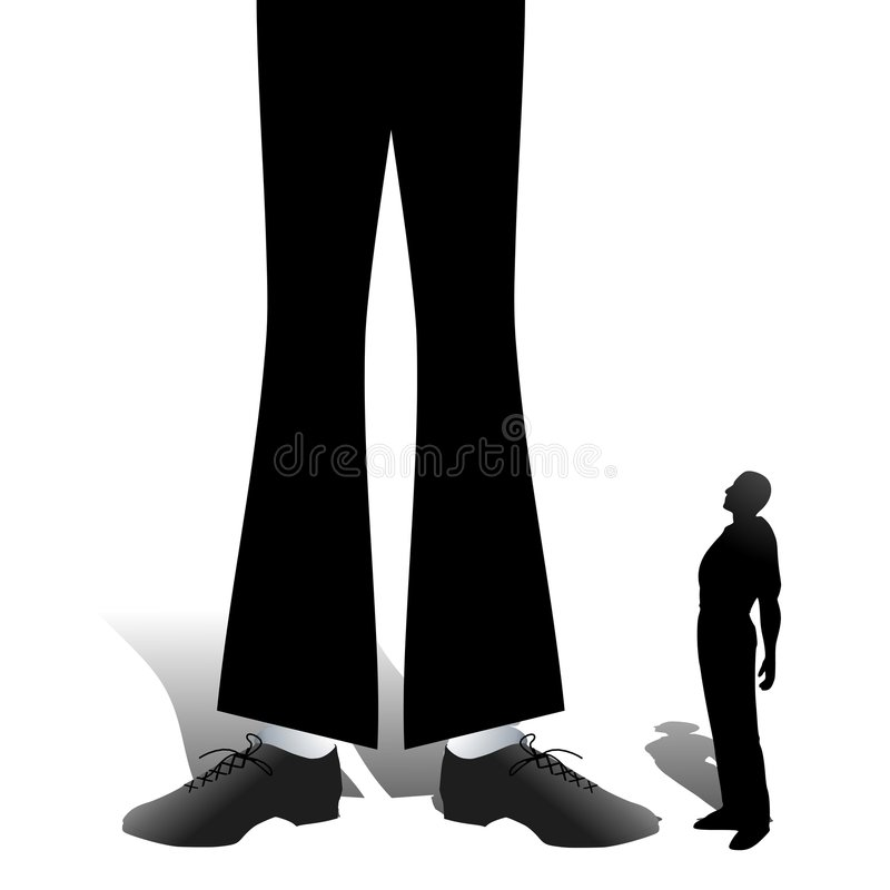 Self Confidence And Competition Stock Photo