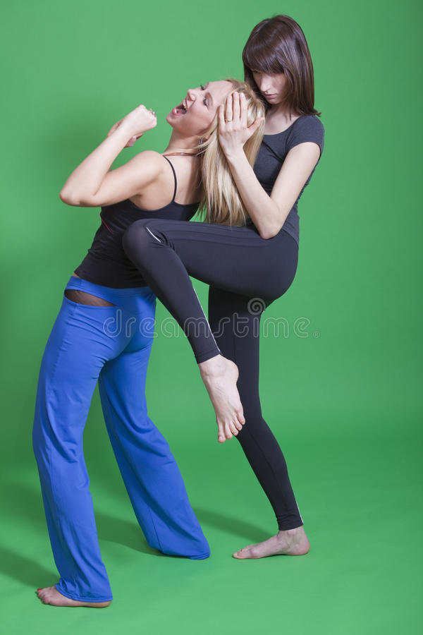 Download Self defence for women stock photo. Image of fear, aggression - 13821466