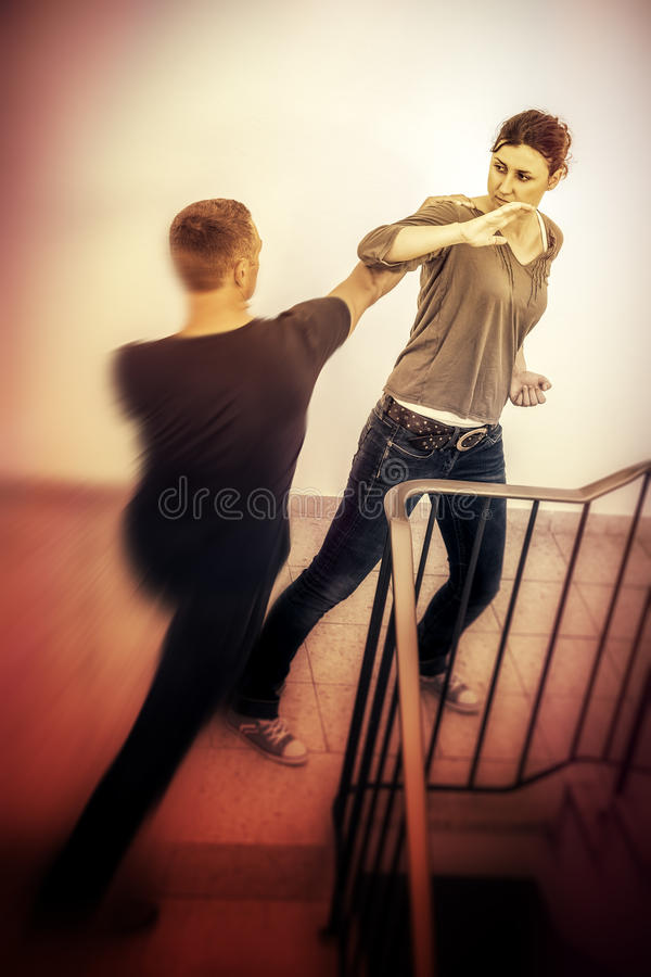 Self defense stock images