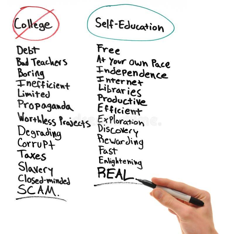 Self-Education fotografia stock libera da diritti