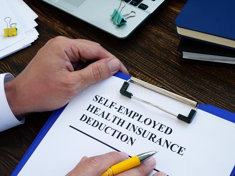 Self Employed Health Insurance Deduction Application Form ...
