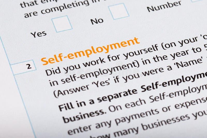 Download Self Employed stock photo. Image of declaration, banking - 40593606