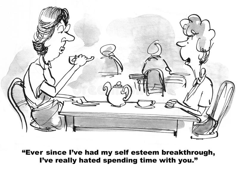 Self Esteem Breakthrough royalty free stock photos