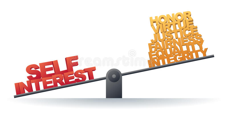 Download Self Interest Prevails Stock Images - Image: 22976734