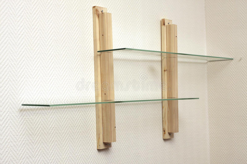 Download Self-manufacture Shelf At Home Stock Photo - Image of sawn, hang: 12765926