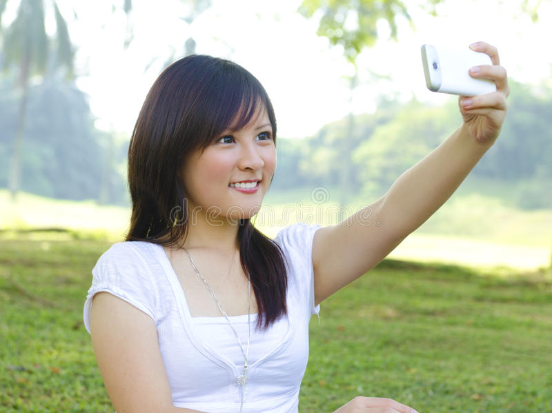 Download Self Photographing Stock Image - Image: 25983801