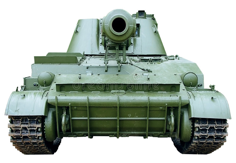Download Self-propelled Armored Artillery Howitzer Stock Image - Image: 7775525