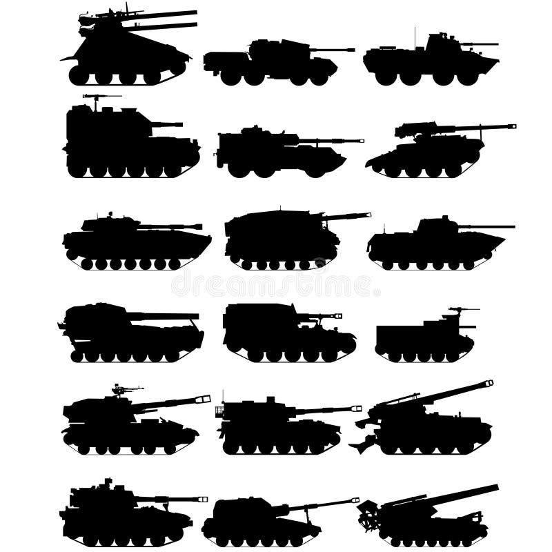 Download Self-propelled artillery-1 stock vector. Illustration of illustration - 31513255