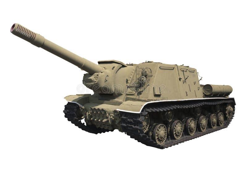 Download Self-propelled gun ISU-152 stock photo. Image of weapon - 15519906