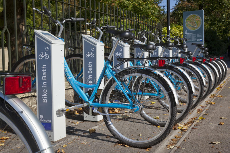 Download Self Service Bike Rentals In Bath Editorial Stock Photo - Image: 29670098