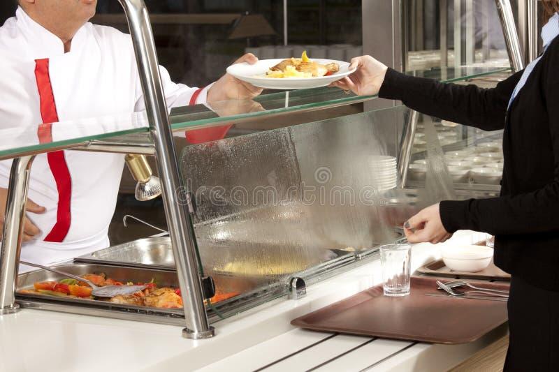 Self service del buffet fotografia stock libera da diritti