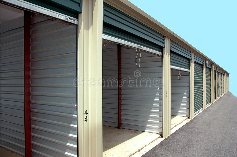 Self storage units royalty free stock photography
