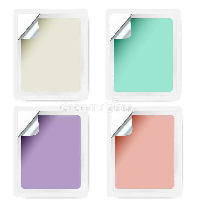 Download Selfadhesive Label Collection Stock Vector - Illustration: 26605137