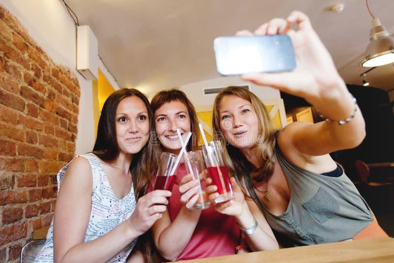 Selfi royalty-vrije stock foto's