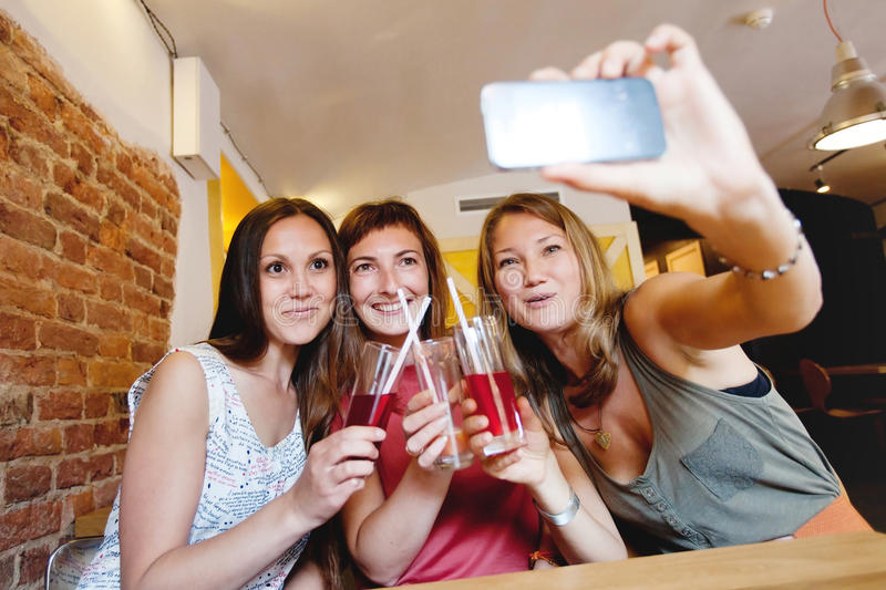 Selfi royalty free stock photos