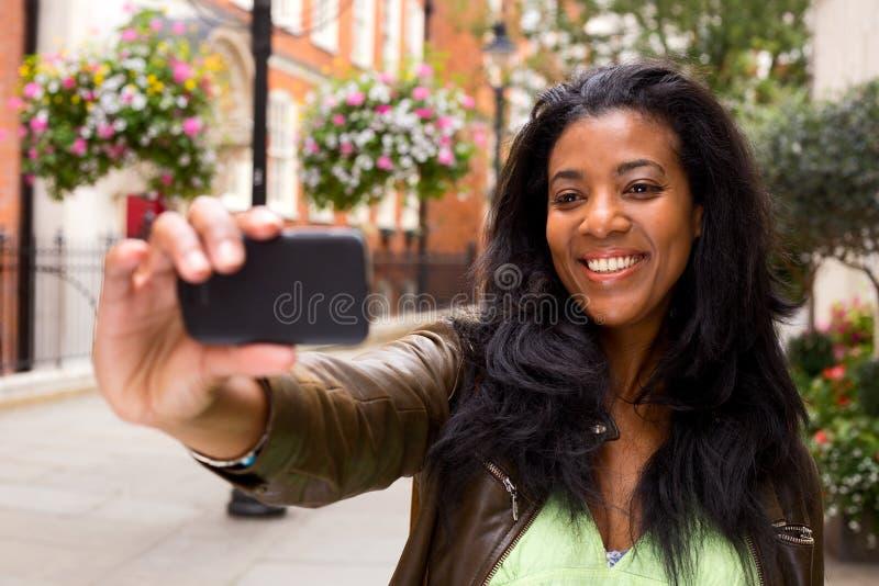 Selfie royalty-vrije stock afbeelding