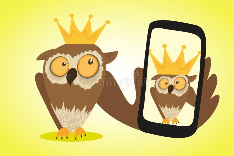 Selfie illustration libre de droits