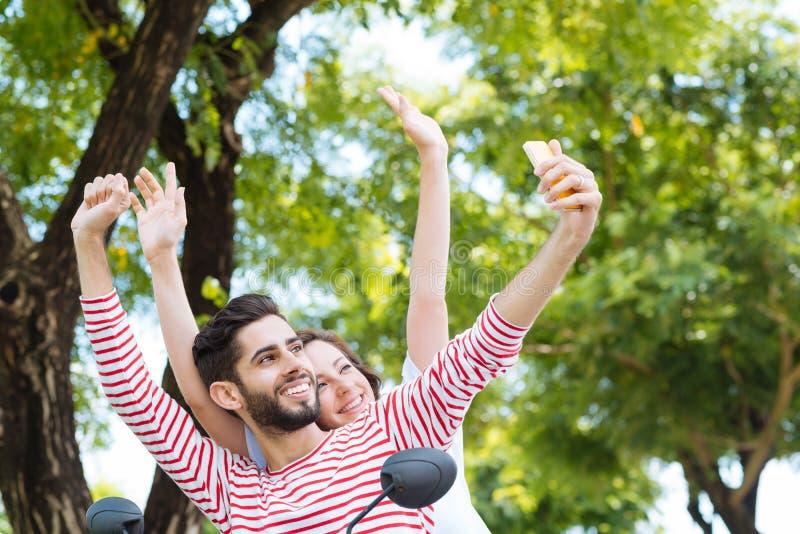 Selfie royalty-vrije stock afbeeldingen