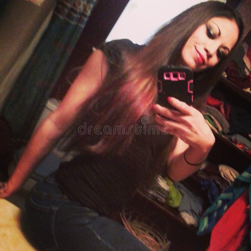 Selfie photographie stock