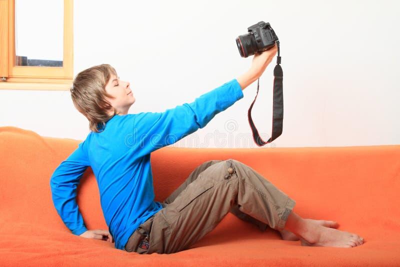 Selfie imagens de stock