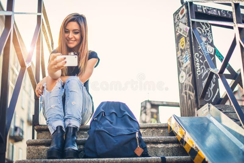 Selfie!!! 免版税库存照片