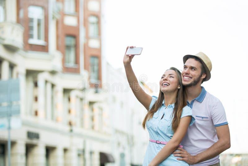 Selfie fotografie stock libere da diritti