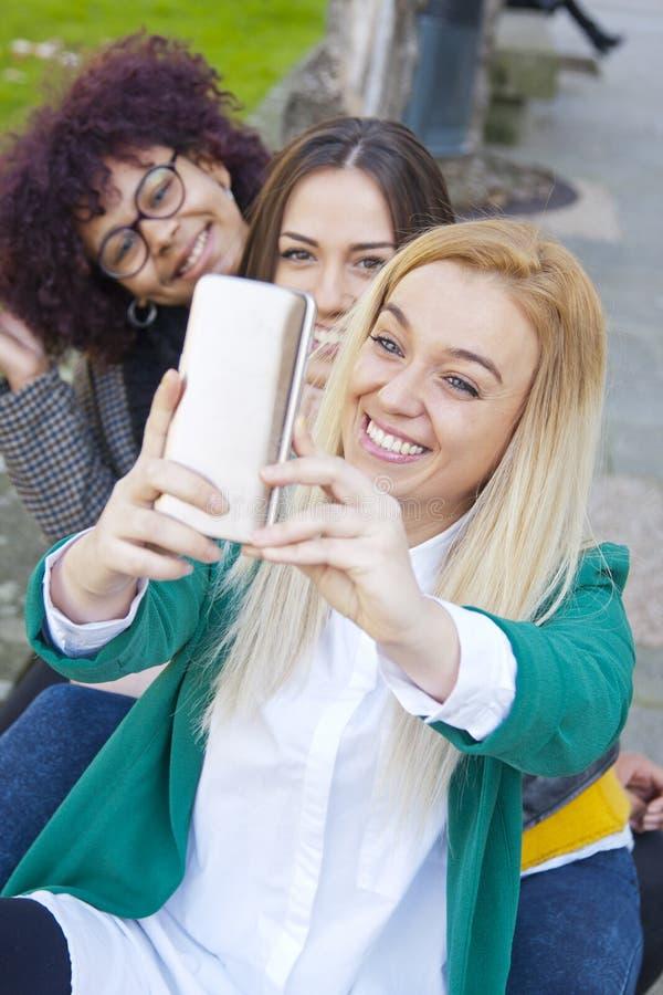 Selfie stock afbeelding