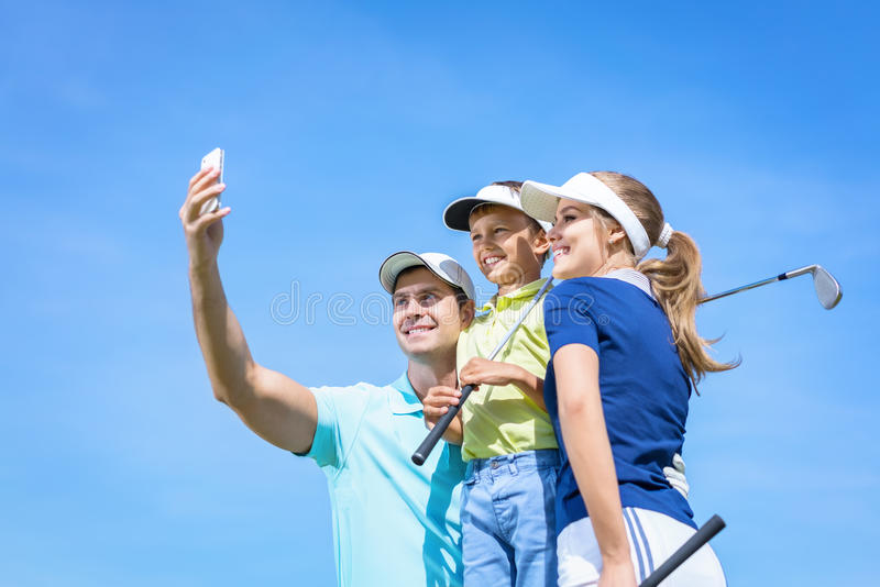 Selfie photos stock