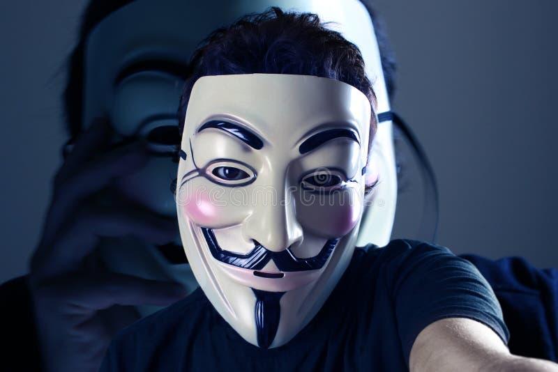 Selfie anonyme photographie stock libre de droits
