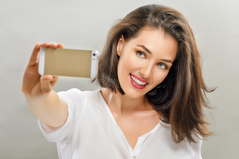 Selfie stock photos