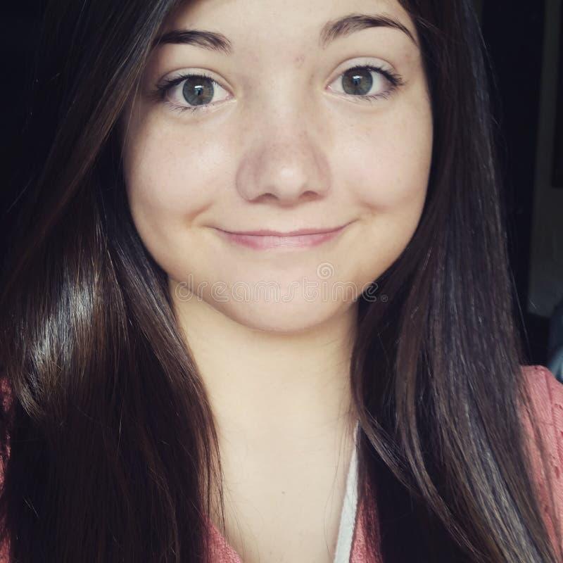 selfie stock image. image of selfie, makeup, cute, brunette - 81000399