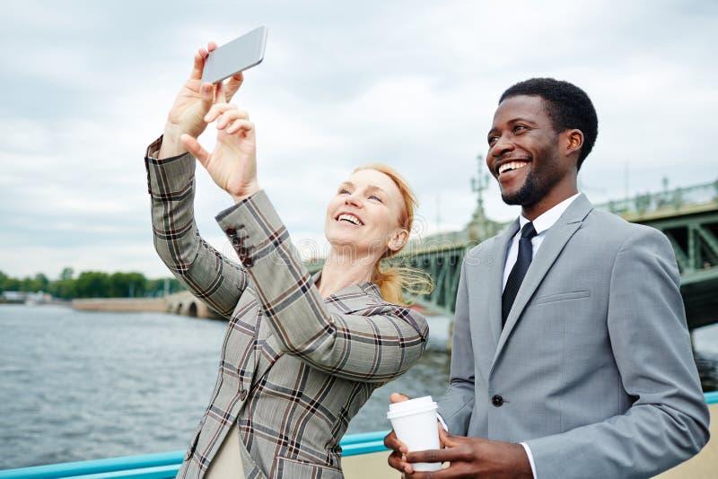 Selfie de croisière photo stock