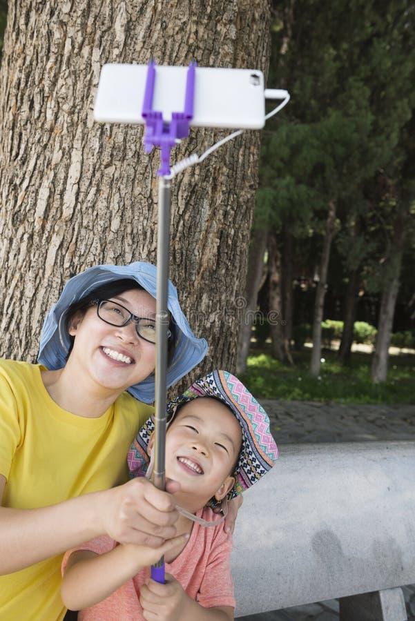 Selfie de familles photos libres de droits