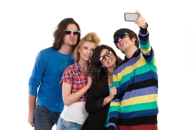 Selfie de groupe photos libres de droits