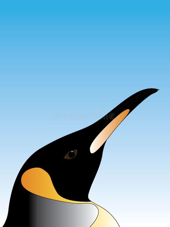 Selfie de pingouin illustration libre de droits