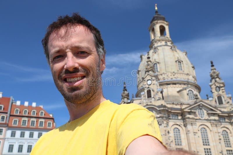Selfie del turista della Germania fotografia stock libera da diritti