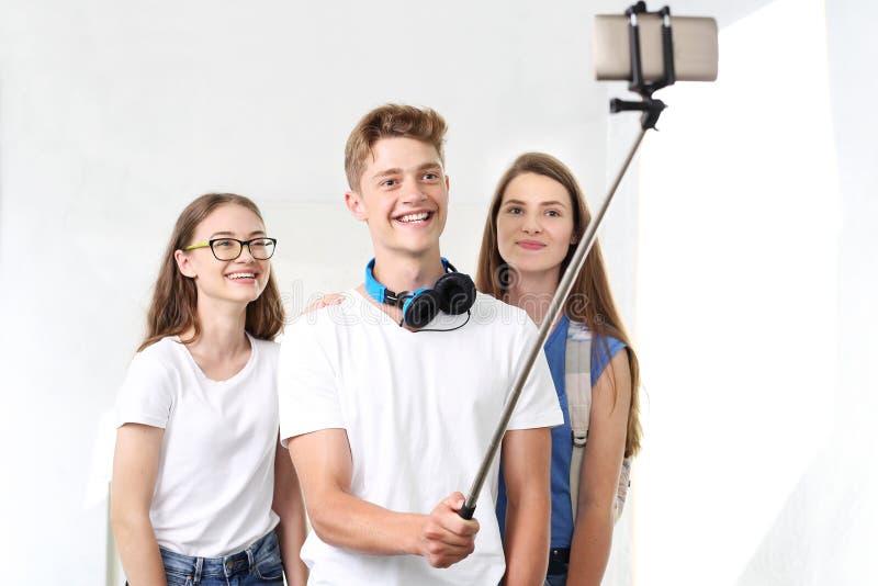 Selfie-Freunde lizenzfreies stockfoto
