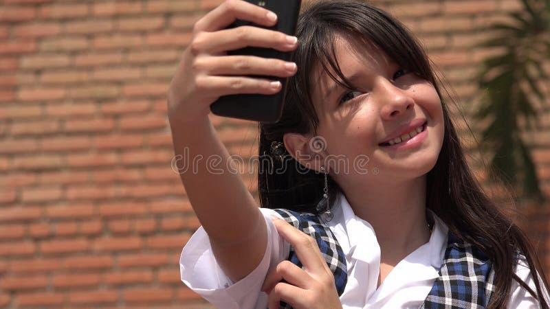 Selfie Młoda kobieta obrazy royalty free