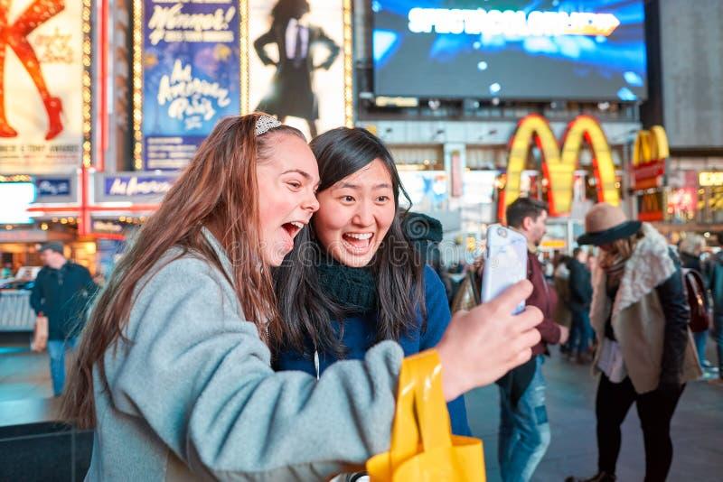 Selfie a New York fotografie stock libere da diritti
