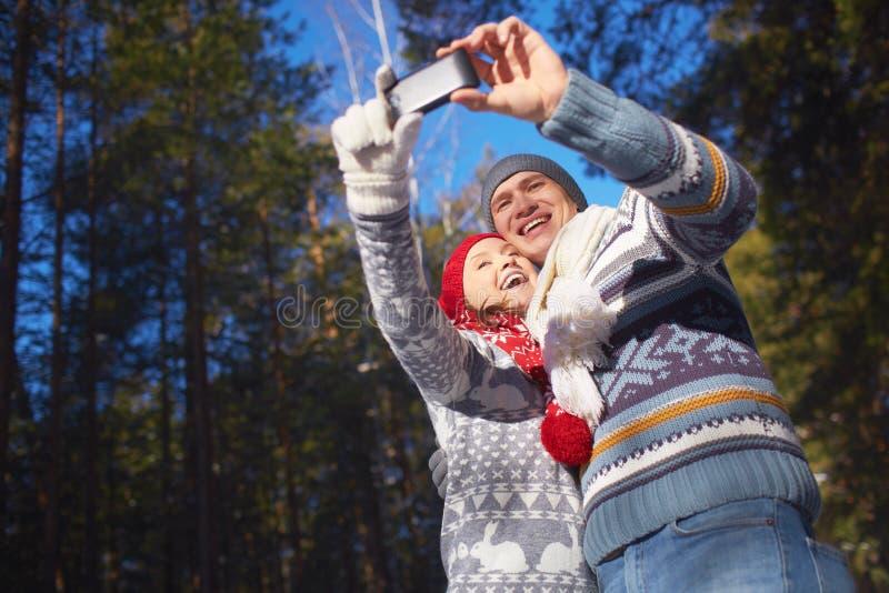 Selfie no lazer fotos de stock