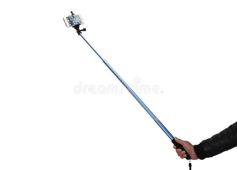 Selfie pinne royaltyfri foto