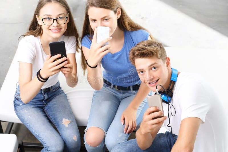 Selfie-Schule lizenzfreie stockbilder