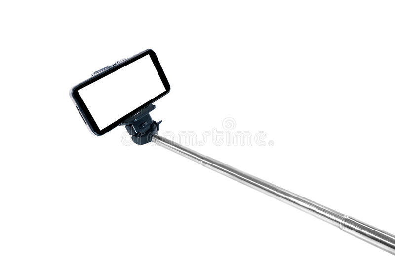 Selfie-Stock monopod lizenzfreie stockfotos