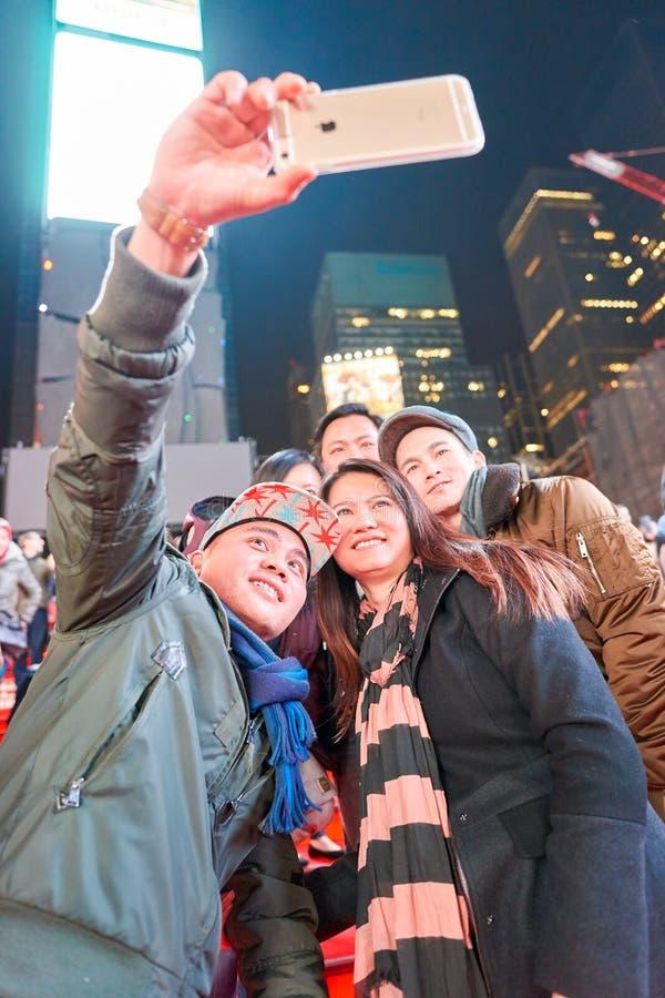 Selfie w Nowy Jork obraz stock