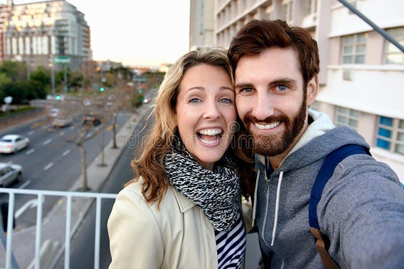 Selfiepret stock fotografie