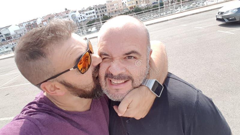 Selfies en Menorca fotografía de archivo libre de regalías