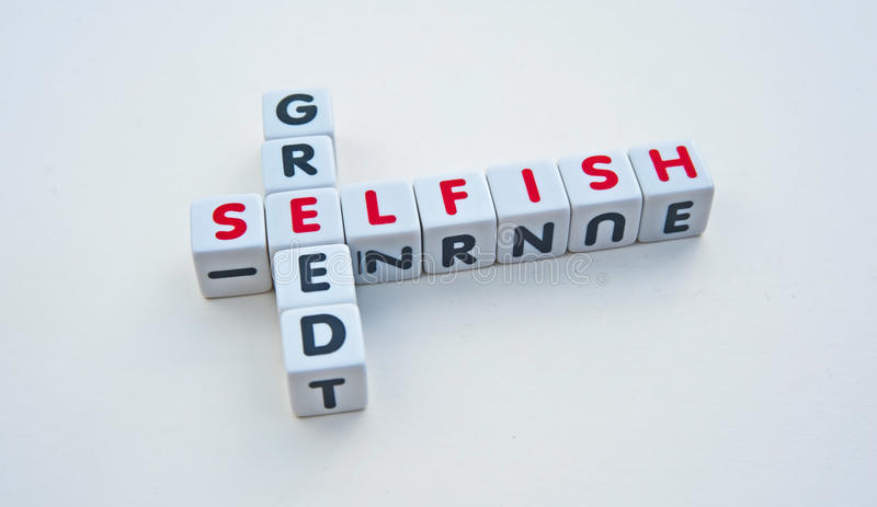 Download Selfish and greed stock image. Image of white, background - 38146081