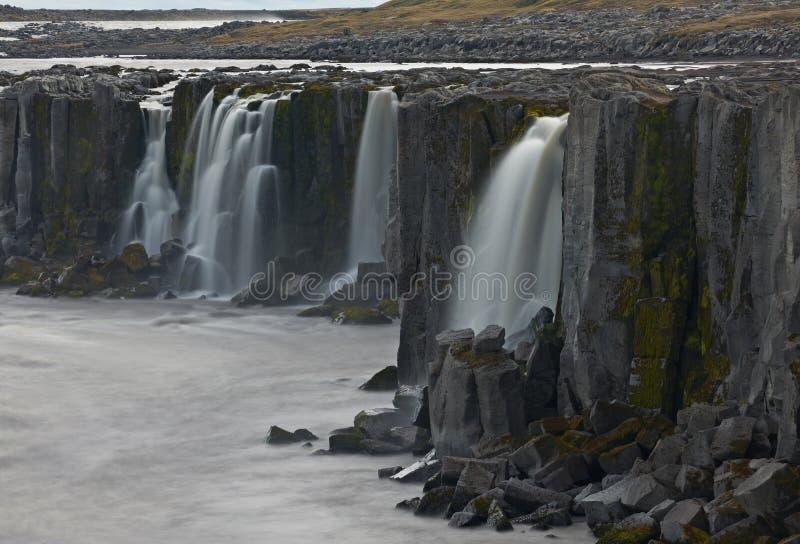 Selfoss Wasserfall, Island lizenzfreies stockfoto