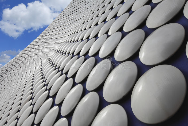 Selfridges που χτίζει το Μπέρμιγχαμ στοκ φωτογραφία με δικαίωμα ελεύθερης χρήσης
